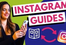 How does the Instagram Guide Work